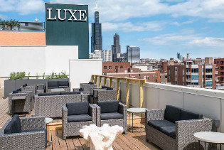 Luxe on Madison patio